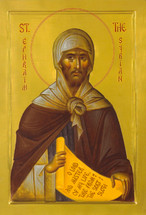 Icon of St. Ephraim the Syrian (Athonite) - (1EP13)