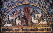 The Good Shepherd (Mosaic) - 5th c. (11S23)