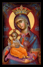 "Icon of the Theotokos ""Throne of Light"" - (12H14)"
