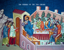 Icon of the Parable of the 10 Virgins - (11Q21)