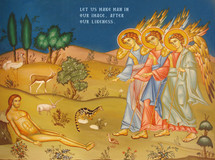 Icon of The Creation of Adam - (11T11)