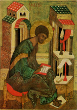 Icon of the Apostle and Evangelist Luke - 16th c. (1LU33)