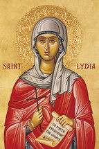 Icon of St. Lydia - (1LY11)
