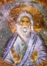 Icon of the Righteous Seth the Patriarch - 13th cent. Serbian - (1SH10)