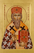Icon of St. Vasilije (Basil) of Ostrog - (SBA11)