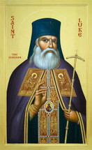 Icon of St. Luke the Surgeon of Simferopol - Byzantine - (1LU36)