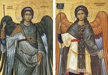 Icon Set: Archangels, Byzantine - (MMG09)