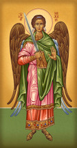 Icon of the Archangel Michael - 20th c. Athonite - (1MI26)