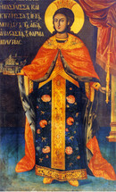 Icon of St. Theophano the Empress - 19th c. (1TH51)