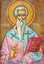 Icon of St. Titus Bishop of Crete - (1TI25)