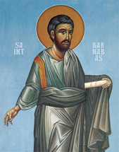 Icon of St. Barnabas the Apostle - 20th c. - (1BA03)