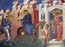 Icon of the flight into Egypt - (11P35)