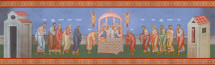 Icon of the Communion of the Apostles - (11J09)