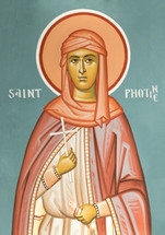 St. Photini the Samaritan Woman - 20th c. - (1PH21)