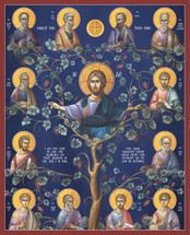 Icon of Christ the Vine  - Byzantine - (11S51)