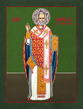 Icon of St. Nicholas the Wonderworker - (1NI18)