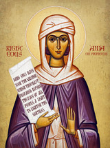Icon of Righteous Anna the Prophetess - (1AN48)