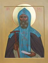 Icon of St. Job of Pochaev - 20th c. - (1JO25)