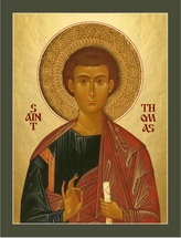 Icon of the Apostle Thomas - Russian - (1TH87)