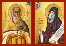 Icon Set: Sts. Silouan & Sophrony - (MMG21)