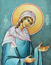 Icon of St. Photini the Samaritan Woman - 20th c. - (1PH22)