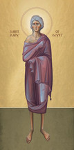 Icon of St. Mary of Egypt - (standing) - (1MA74)