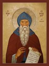 Icon of St. Vincent of Lerins - 20th c. - (1VI15)