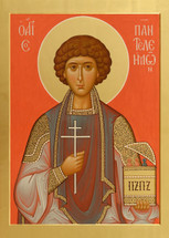 Icon of St. Panteleimon  - (1PA14)