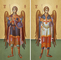"Archangels ""All-Glorious"" Matched Icon Set - (MMG15)"