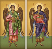 "Archangels ""Athonite"" Matched Icon Set - (MMG16)"