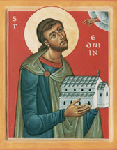 Icon of St. Edwin of Northumbria - (1ED02)