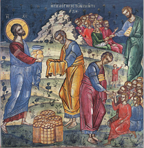 Icon of the Feeding of the 5000 - (English) - (11P09)