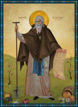 Icon of St. Fiacre of Breuil - (1FI10)