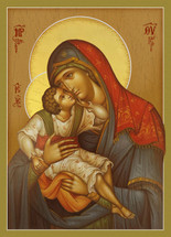 Icon of the Theotokos and Child - (12G86)
