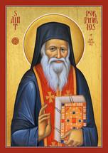 Saint Porphyrios of Kavsokalivia (red epitrachilion)  - (1PO15)
