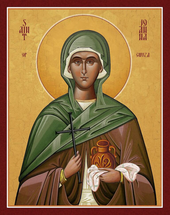 Icon of St. Joanna the Myrrh-bearer - (1JA15)