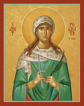 Icon of St. Felicity of Rome - (1FE10)