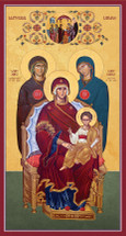 Icon of the Maternal Lineage of Christ - (12G90)