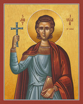 Icon of St. Julian the Martyr - (1JU15)
