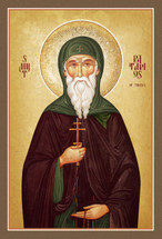 Icon of St. Patapios of Thebes - (1PT10)