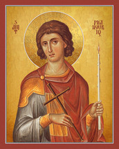 Icon of St. Phanourios - English - (1PH07)