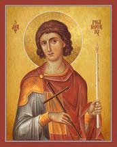 Icon of St. Phanourios - English - (1PH07)