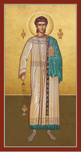 Icon of St. Nicanor the Deacon  - (1NK10)