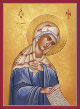 Icon of St. Lydia of Philippi - (1LY15)