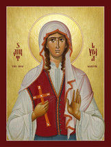 Icon of St. Lydia the New Martyr of Russia - (1LY12)