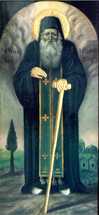 Icon of St. Arsenios of Paros - (1AR08)