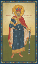 Icon of St. Richard of Wessex - 20th c. - (1RI10)