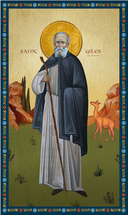 Icon of St. Giles the Hermit - (1GA50)