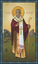 Icon of St. Boniface Enlightener of Germany - (1BF10)