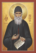 Icon of St. Paisios the Athonite (Souroti) - (1PA48)